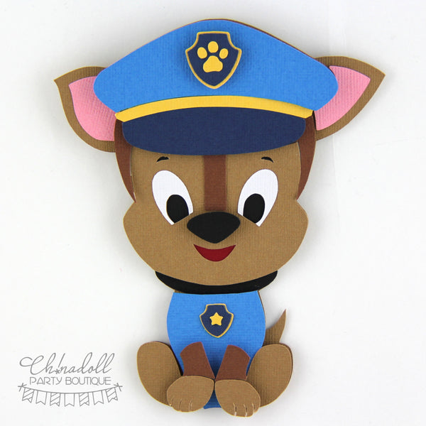 rescue pups backdrop decoration | paw patrol chase