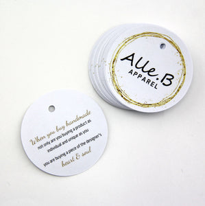 business swing tags | business card | double sided
