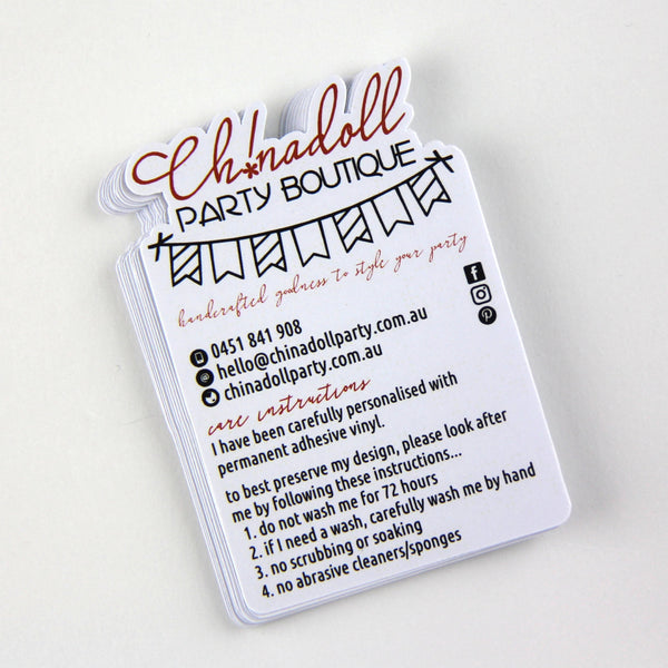 business swing tags | bulk pack | 150 tags