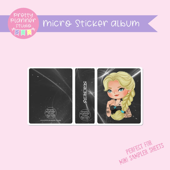 Inked - Elsa | micro sticker album | IN-006/7