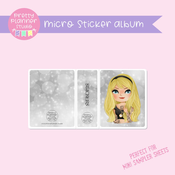 Inked - Alice | micro sticker album | IN-006/3
