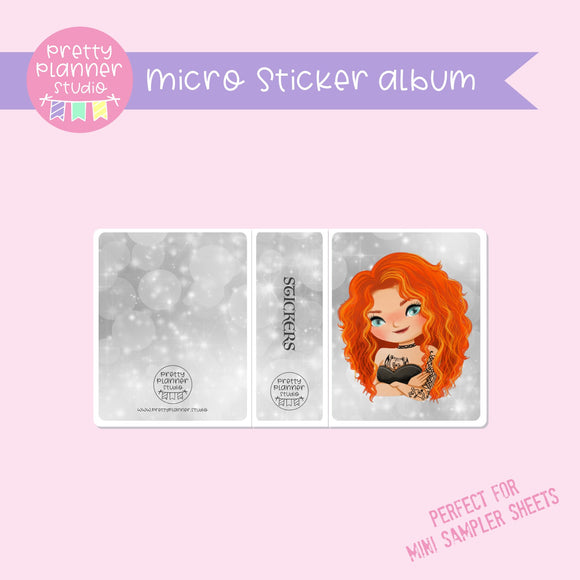 Inked - Merida | micro sticker album | IN-006/11