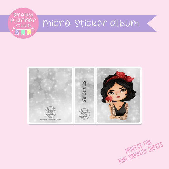 Inked - Snow White | micro sticker album | IN-006/9