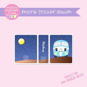 Happy campers - Kombi | micro sticker album | HC-006/3