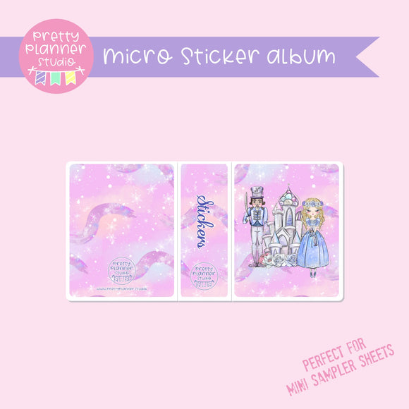 Doll kingdom - Pink sky | micro sticker album | DK-006/1