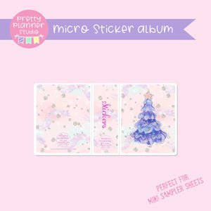 Doll kingdom - Christmas tree | micro sticker album | DK-006/6