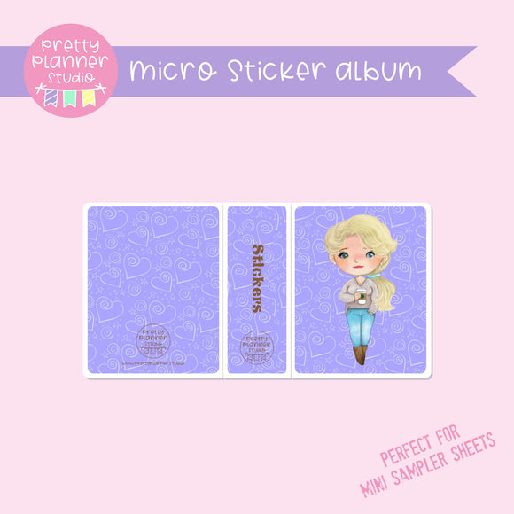 Meet me for coffee - Elsa | micro sticker album | MC-006/10