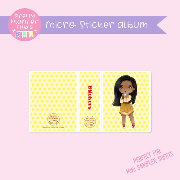 Meet me for coffee - Pocahontas | micro sticker album | MC-006/11
