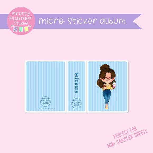 Meet me for coffee - Belle | micro sticker album | MC-006/12