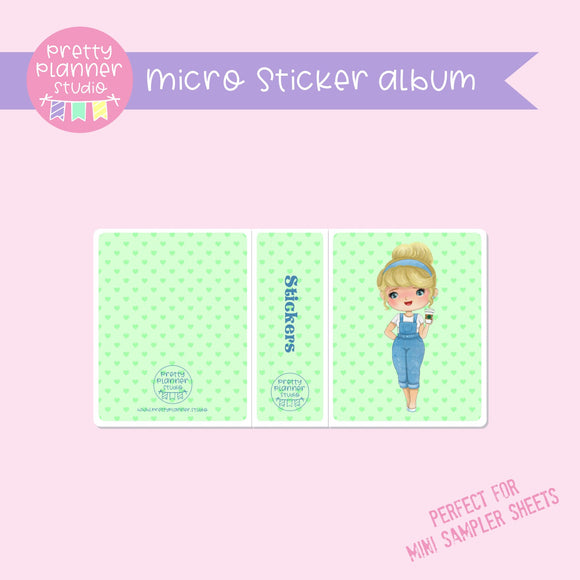 Meet me for coffee - Cinderella | micro sticker album | MC-006/14