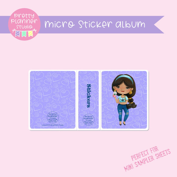 Meet me for coffee - Jasmine | micro sticker album | MC-006/15