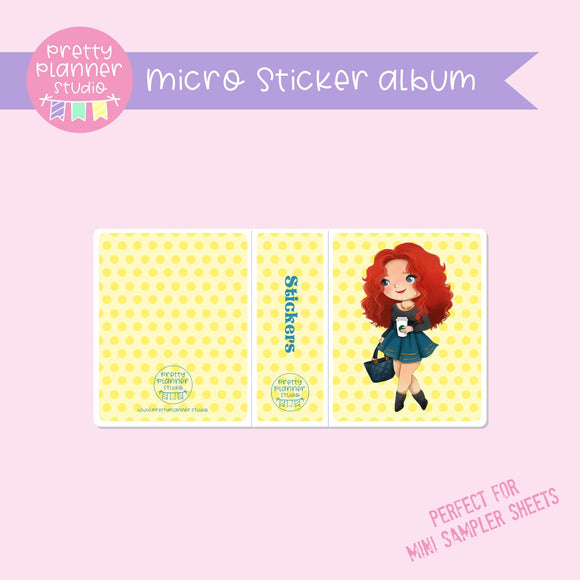 Meet me for coffee - Merida | micro sticker album | MC-006/1