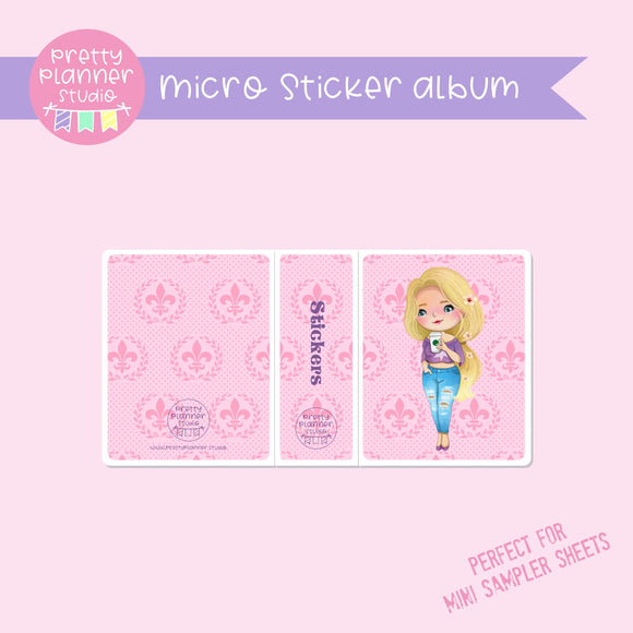Meet me for coffee - Rapunzel | micro sticker album | MC-006/3