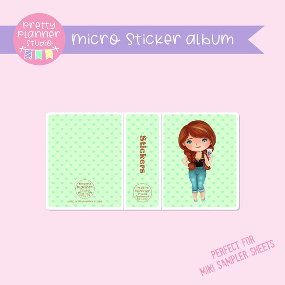 Meet me for coffee - Anna | micro sticker album | MC-006/4