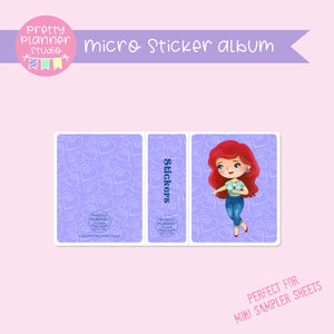 Meet me for coffee - Ariel | micro sticker album | MC-006/5