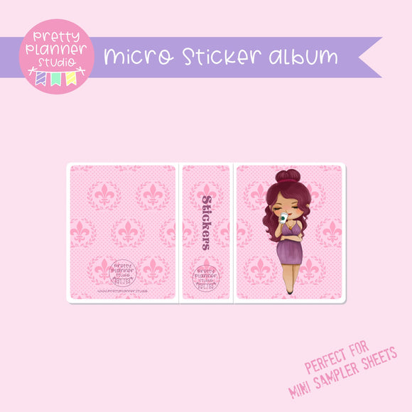 Meet me for coffee - Megara | micro sticker album | MC-006/8
