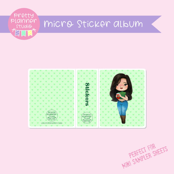 Meet me for coffee - Mulan | micro sticker album | MC-006/9