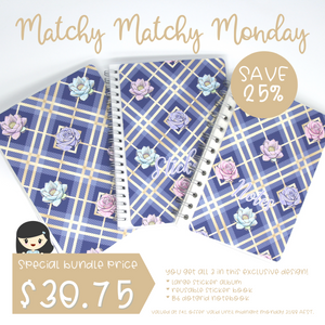 Matchy Matchy Monday bundle - Butterfly wings | August 2020