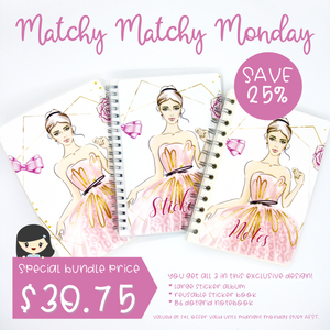 Matchy Matchy Monday bundle - My pink boudoir | September 2020