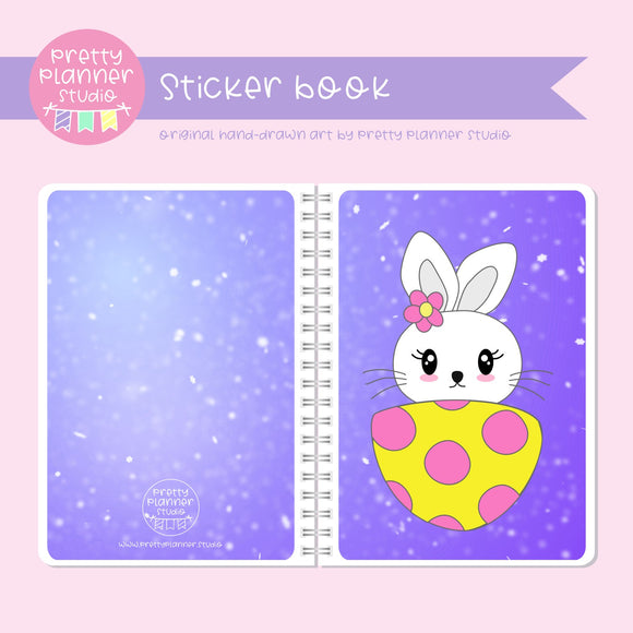 Hoppy Easter - Bunny | sticker book | HE-007/2