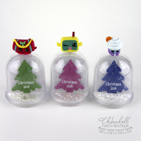 christmas snow dome | shopkins