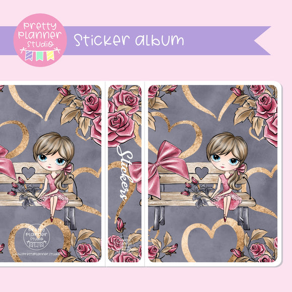 Be mine - Girl | holo sticker album | BM-006/1H