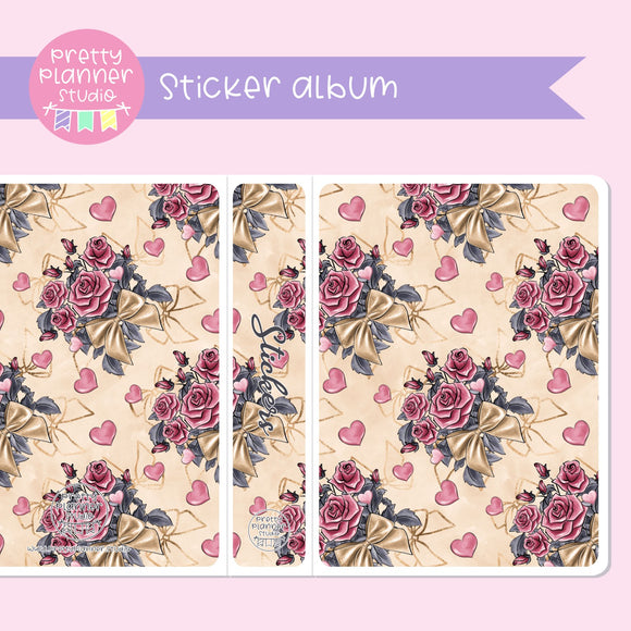 Be mine - Flowers | sticker album | BM-006/4