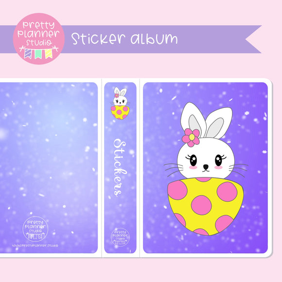 Hoppy Easter - Bunny | sticker album | HE-006/2