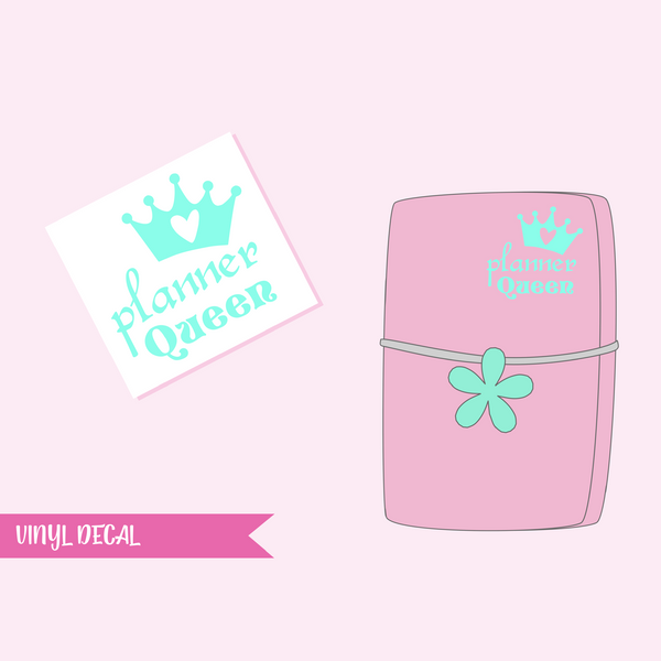 vinyl decal | planner queen