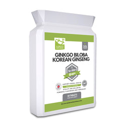 Ginkgo Biloba and Korean Ginseng Capsules