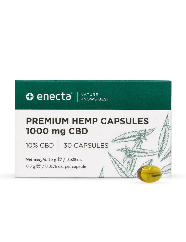 CBD in capsule 10% - 1000 mg