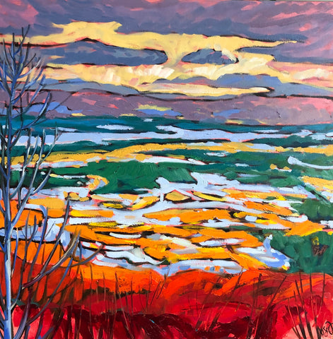 Champlain lookout -SOLD