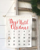 Days Until Christmas Countdown Calendar - Returning Grace Designs