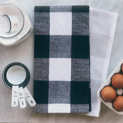Buffalo Check Farmhouse Tea Towel - Returning Grace Designs