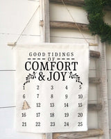 Good Tidings of Comfort and Joy Christmas Countdown Calendar - Returning Grace Designs