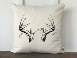Antler with Lights Original Artwork Pillow Cover