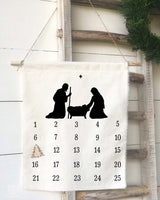 Nativity Christmas Countdown Calendar - Returning Grace Designs