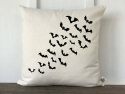 Flying Bats Pillow Cover