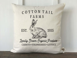 Cotton Tail Farms Pillow Cover - Returning Grace Designs