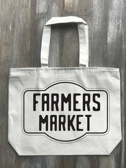 Farmers Market Vintage Graphic Tote - Returning Grace Designs