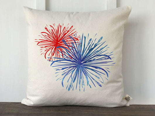 Fireworks Pillow Cover - Returning Grace Designs