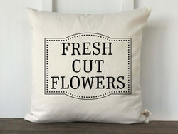 Fresh Cut Flowers Pillow Cover - Returning Grace Designs