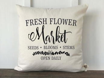 Fresh Flower Market Pillow Cover - Returning Grace Designs