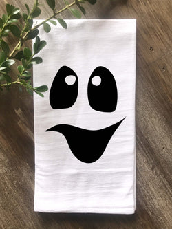Ghost Face Tea Towel