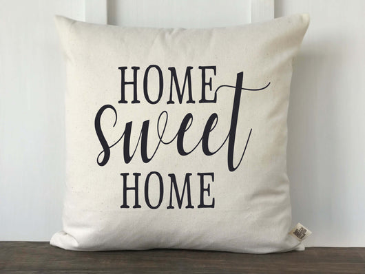 Home Sweet Home Pillow Cover - Returning Grace Designs