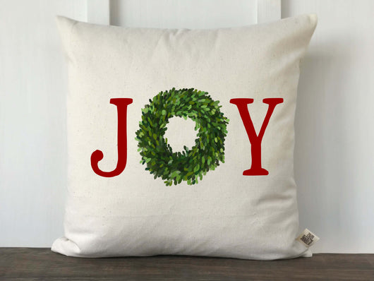 Joy Boxwood Pillow Cover - Returning Grace Designs