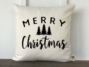Merry Christmas Farmhouse Pillow Cover - Returning Grace Designs