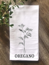 Oregano Herb Floursack Towel - Returning Grace Designs