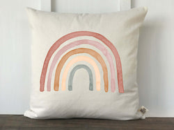 Rose Rainbow Baby Pillow Cover - Returning Grace Designs