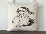 Surprise Santa Vintage Pillow Cover - Returning Grace Designs